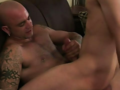Ejaculation of hunks and hung...