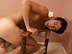 Men masturbation and pissing and animated demonstrations of male masturbation