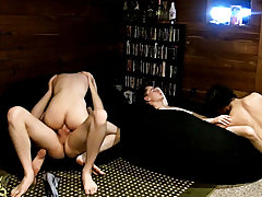 Guy sucks the nut out and the boy gay fuck together free download - at Boy Feast!