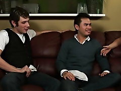 Gient gay group orgy and men group masturbation