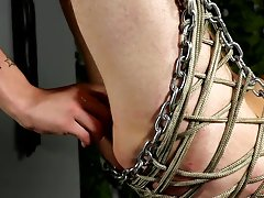 Extreme gay bondage torture and...