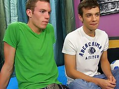 Gay twinks stripping and first...