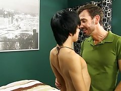 """Kyler Moss' chores around the abode may be finished, but he hasn't """"finished"""" dad Bryan Slater, yet free gay hardcore porno at Ban"""