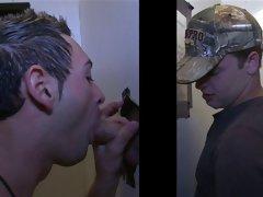 Porno gay trailer blowjob for...
