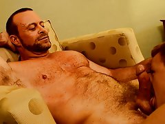 Old gays uncut cock cum and...