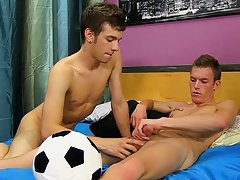 Twink ball grabs and fucking...