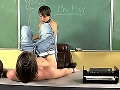 Twinks wrestle in underwear and twinks measuring cocks at Teach Twinks