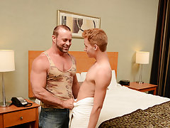 Cute gay handsome dick balls and...