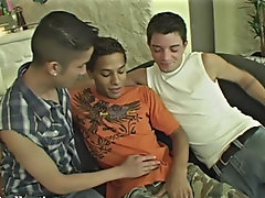 Young teen gay boy caught...