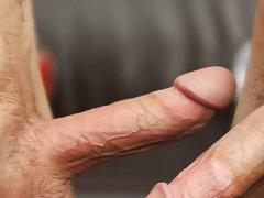 Nude young boy dick masturbation...
