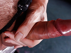 Male masturbation position video...