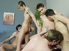 Gay twink ass and first time...