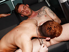 Gay group sex video trailer and...