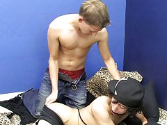 Then Daniel flips around and returns the favor men in bondage videos at Boy Crush!