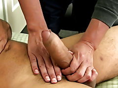 Young gay men masturbation and...