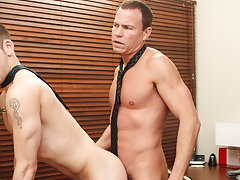 Gay pics of older man fucking twink and twink boys playing with each others cocks at My Gay Boss
