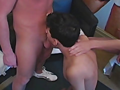 Male group shower and gay group sex video trailer