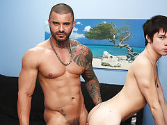 Hot black army naked gay men...