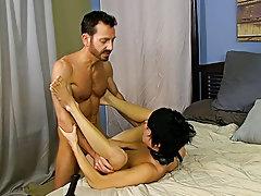 Fucking a boys man boobs and old gay men fucking young boys bareback at Bang Me Sugar Daddy