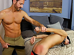 Young boy tube masturbation and...
