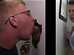 Youth boys blowjob each others cock and gay blowjob driving