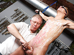 Gay men with long brown hair sucking cock videos and free twink bondage - Boy Napped!