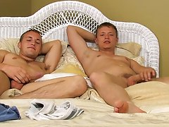 Twink sweaty fuck and twinks in old jeans - at Real Gay Couples!