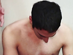 Boys cumshot in underwear
