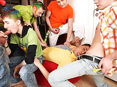 Gay hotel orgies yahoo groups and free gay group porn at Crazy Party Boys