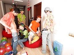 Gay hotel orgies yahoo groups and free gay group porn at Crazy Party Boys