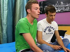 Twinks nipple play and naked male models showing dicks - at Real Gay Couples!