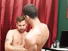 Gay man fucking man in the ass...