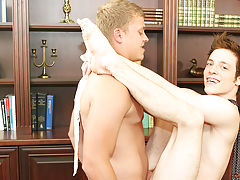 twink short blonde hair porn and...