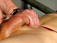 Male testicle bondage and towel male bondage - Boy Napped!