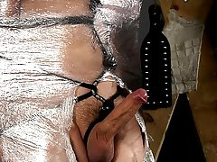 Black male bondage torture...
