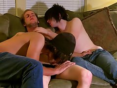 Photos penis in ass and emo guy gives blow job to other guy - at Tasty Twink!