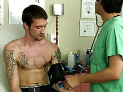 Gay porn moaning doctor and shocking gay twink