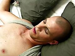 Gay boy masturbation dildo...