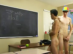 The slim Latino twink gets thoroughly fucked in advance of Elijah cums all over his delightsome lips asian boy first at Teach Twinks