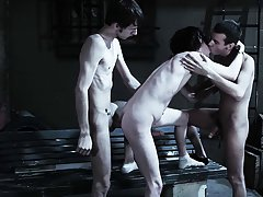 Nude gay male groups and group...