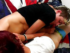 Horny skinny boy Skylar West was the consummate choice, and they waste no time swapping those jocks back and forth teens boys naked at Homo EMO!