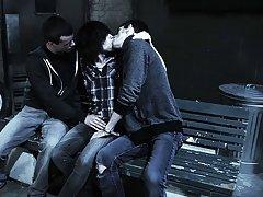 Gay men having group sex and gay wrestling groups - Gay Twinks Vampires Saga!