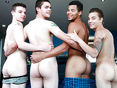 Gay group sex houston and real...