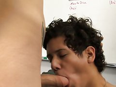Rad delivers a big package that Felix is happy to sign for twinks and old gays