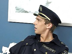 Nathan hasn't been a very priceless lad and Officer Patrick is there to train him a worthy lesson anal teen gay movie home