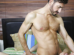 Gay boy twink socks and boy with toy tube at I'm Your Boy Toy