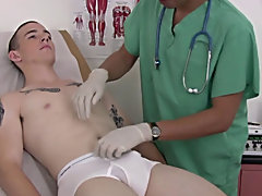 It was time to examine his genitals so I had him lay on the exam table after weighing him and felt around his lower abdomen amateur nude male posing