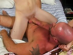 Aaron cute anal fuck at Bang Me...