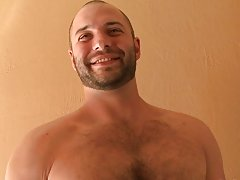 If you're a sick twisted fuck that likes pain, cum gets some gay bear hairy