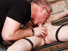 Ladyboy french kissing and black...